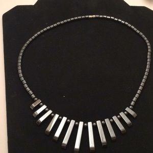 Hemotite necklace, new